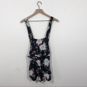 Divided By H&M Floral Overalls Size 4